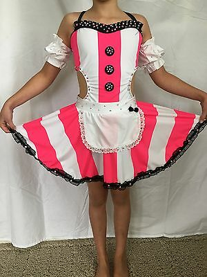 Custom Made Jazz Musical Theater Tap Competition Dance Costume Size Child Large