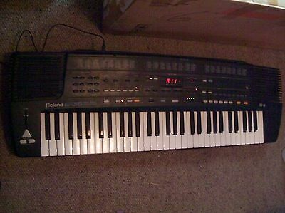 Roland E-36 Intelligent Synthesiser/Stand Made In Italy In Original Box Awesome