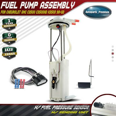 Fuel Pump for 00-98 CHEVROLET C3500HD V8-7.4L w//1 Electrical Connector-E3956M