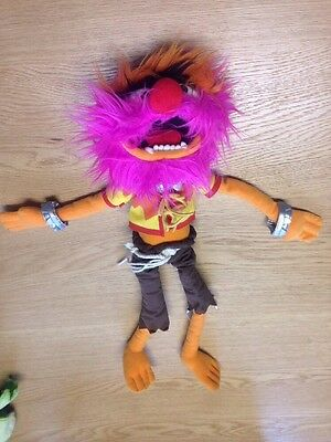 "Disney Store - The Muppets - 16"" Animal Plush Soft Toy"