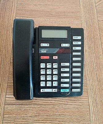 Nortel Aastra Home Office Phone M9316CW Black GOOD CONDITION