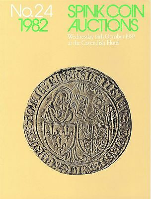 SPINK Auction 24 13th October 1982 Anglo Gallic coins & Comm Oval medals
