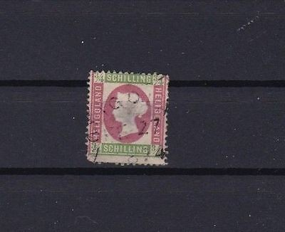 HELIGOLAND 1869  ¾ sch USED STAMP CAT £1200 CONDITION AS SHOWN   REF 6130