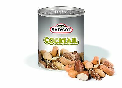 Mixed Cocktail Nut Snack; Box of 96; Sleek, Stylish Canned Snack; Convenient