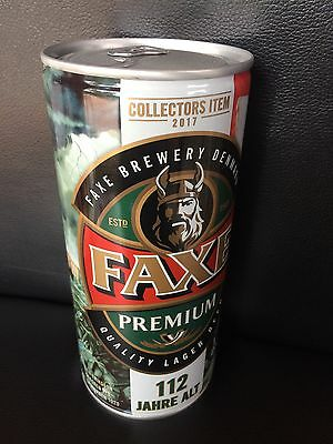 NEW 1 x FAXE Bier Dose Beer 112 Full SAGA RAGNAR LODBROK LIMITED EDITION