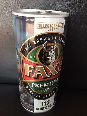 NEW 1 x FAXE Bier Dose Beer 113 Full SAGA RAGNAR LODBROK LIMITED EDITION