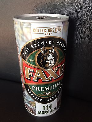 NEW 1 x FAXE Bier Dose Beer 114 Full SAGA RAGNAR LODBROK LIMITED EDITION