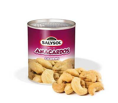 Cashews; Box of 96; Sleek, Stylish Can; Convenient and Vacuum Sealed