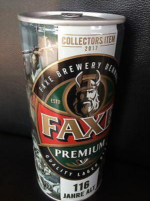 NEW 1 x FAXE Bier Dose Beer 116 Full SAGA RAGNAR LODBROK LIMITED EDITION