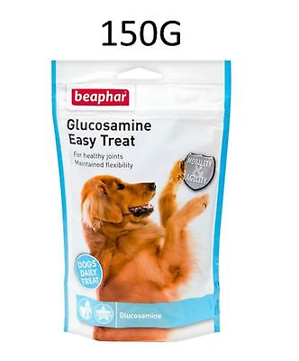 Beaphar Glucosamine Easy Treat Adult Senior Dog Joint Bone Care Supplement 150G