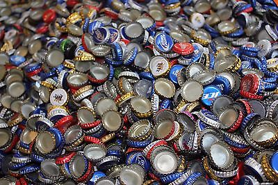 1000 + BULK LOT `popped off` BEER BOTTLE CAPS  CROWNS CRAFTS `WITH DENTS`