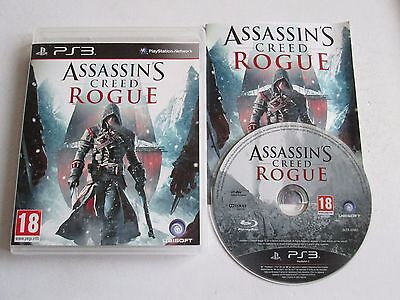 Assassins Creed Rogue For Sony Playstation 3 / PS3 Game Complete PAL 2014