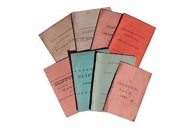 Village of Clifford Pennsylvania RARE LOCAL HISTORY Pamphlets Miller