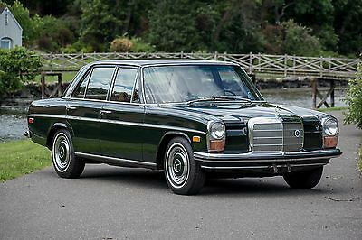1970 Mercedes-Benz 200-Series 220D 1970 Mercedes-Benz 220D - Fully Restored