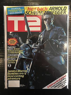 T2 Terminator 2 Official Movie Magazine VF+ Free UK P&P Starlog Magazines