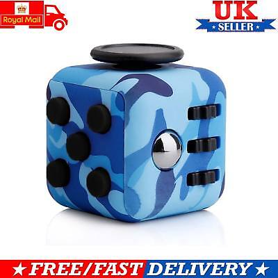 Fidget Cube Desk Toy Children Desk Toys Anxiety Adults Relief Stress ADHD Cube