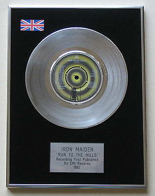 IRON MAIDEN Run To The Hills PLATINUM Single DISC Presentation