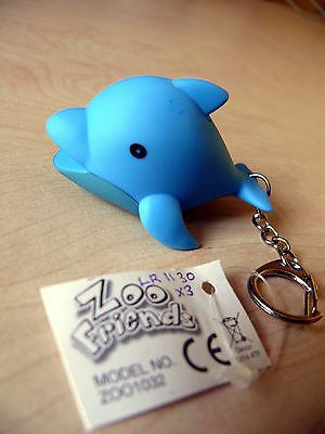 Zoo Friends Light & Sound Dolphin Keyring