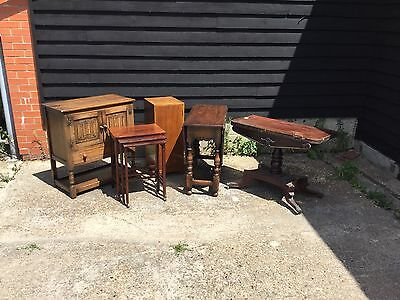 Antique Vintage Furniture Job Lot Barn Clearance Tables Cupboards