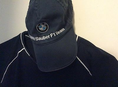 BMW Mens Large slightly Used Tee with Hat