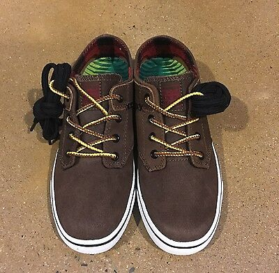 1e358166bf1e56 IPath Nomad S Dirt Cow Skull Size 6 US BMX DC Skate Shoes Sneakers Deadstock