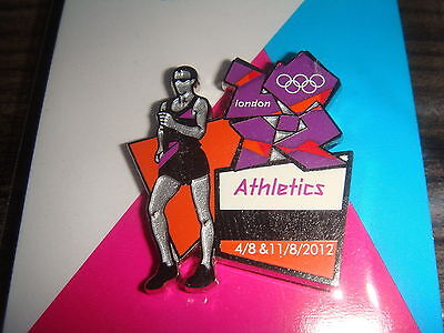 London 2012 Olympic Sport Pose Race Walk Walking The Mall Venue Dated Pin Rare