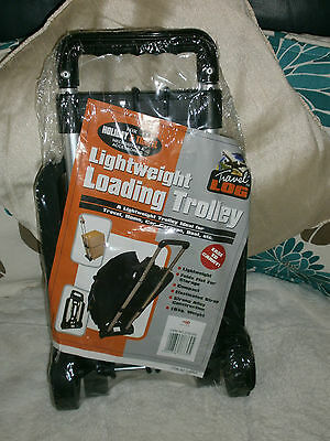 BRAND NEW Lightweight Loading Trolley With Straps Holiday Luggage Festival
