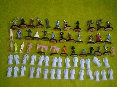 DR DOCTOR WHO MICRO UNIVERSE FIGURES  50 plastic role playing  figures etc