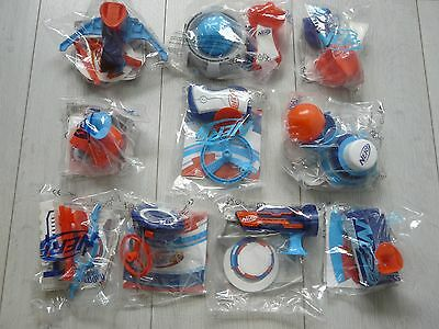 McDonalds Happy Meal Toys 2017 NERF full set of 10 toys