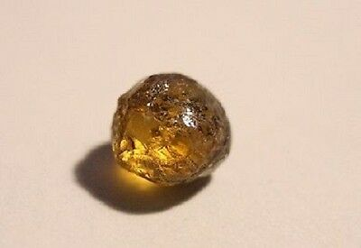 Mali Garnet 2.86ct Facet Rough - Flawless Golden Garnet