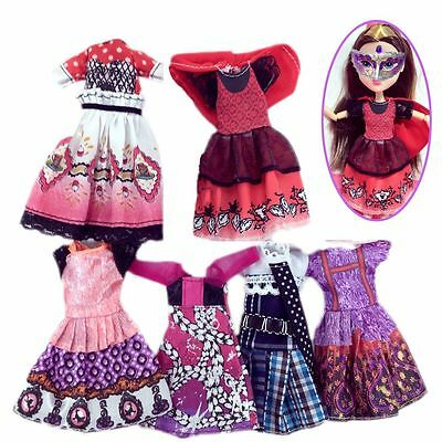 New Handmade Cute Child Gift Costume Doll Clothes Mini Dress Monster High Suit