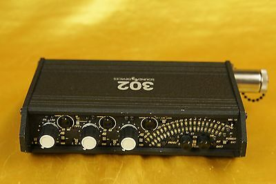 SOUND DEVICES 302 - compact 3 channel field mixer -  very good condition