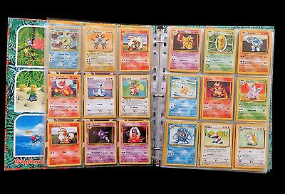 HUGE ASSORTMENT OF POKEMON CARDS INC BASE SET, BS2 & FOSSIL COLLECTIONS 224cards