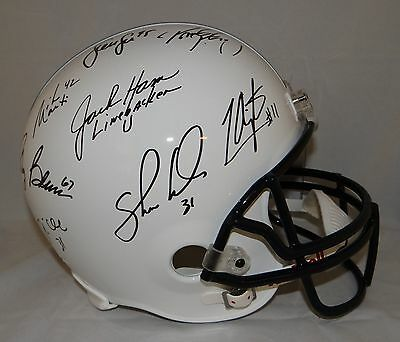 Linebacker U Autographed Penn State Full Size Helmet- JSA Authenticated