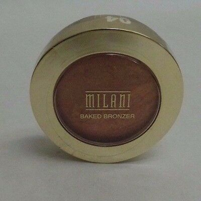 Milani Baked Bronzer Pressed Powder in Shade 04 Glow New and Sealed