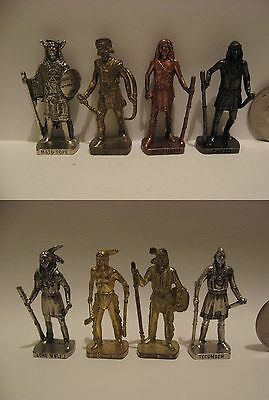 LOT native american Indian chief warrior miniature figure figurine wild old west