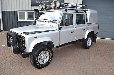 Land Rover 110 Defender 2.5Td5 Double Cab Silver