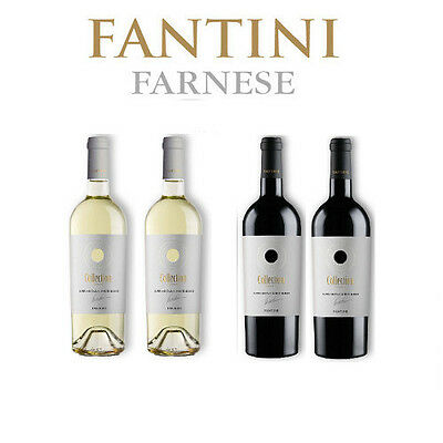 2 Rosso Collection 2016 + 2 Bianco Collection 2016 Supreme Italian Blend Fantini