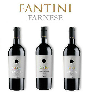 Fantini Rosso Collection 2016 Supreme Italian Red Blend 3 bottiglie 75 cl.