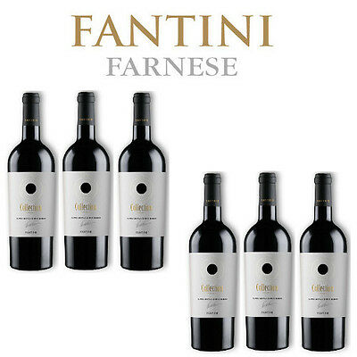 Fantini Rosso Collection 2016 Supreme Italian Red Blend 6 bottiglie 75 cl.