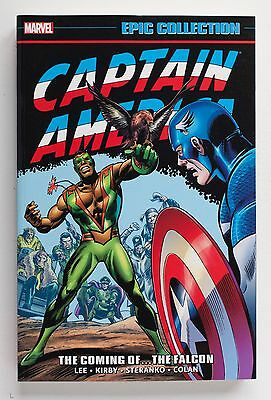Captain America Coming of The Falcon Marvel Epic Collection Graphic Novel