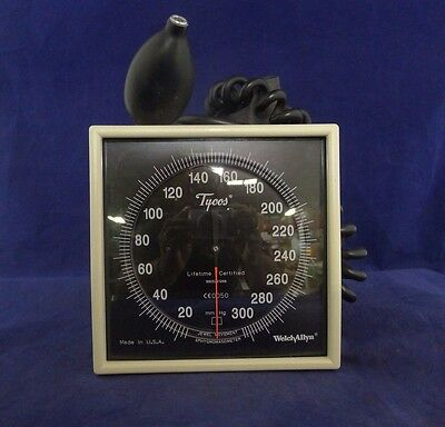 Welch Allyn CE0050 Wall Mount Sphygmomanometer w/ Cuff USED