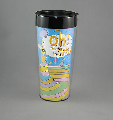 Dr Seuss Travel Mug Oh The Places You'll Go Tumbler NEW