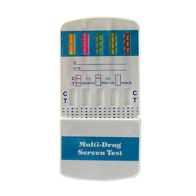 50 Pack 5 Panel Drug Testing Kit - Test for 5 Drugs Home or Work - W654