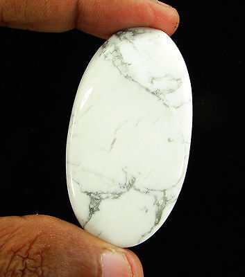 117.45 Ct Natural Howlite Loose Gemstone Cabochon Beautiful Stone - 11877