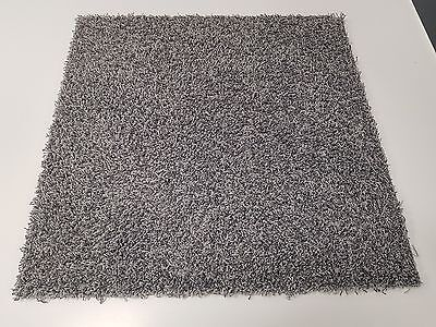 100 x DESSO GREY 50 CM'S SQ EXTRA THICK THERMAL SHAGPILE CARPET TILES FOR £60