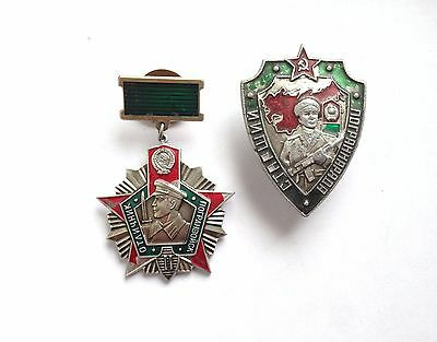100% Original! Soviet KGB Border Troops Badges USSR