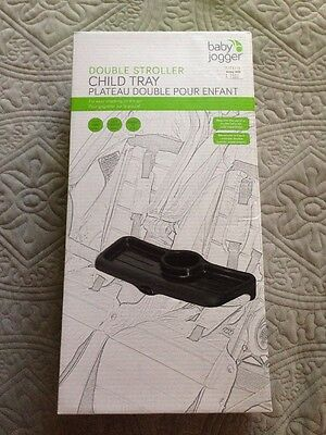 NEW IN BOX Baby Jogger Child Tray For Double Stroller Double Child Tray