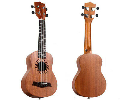 21 inches Wood Color Beginners Preferred Musical Instrument Hand-made Ukulele