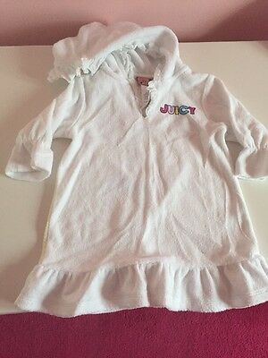 Girls Juicy Couture Beach Cover Up Age 12/18 Months